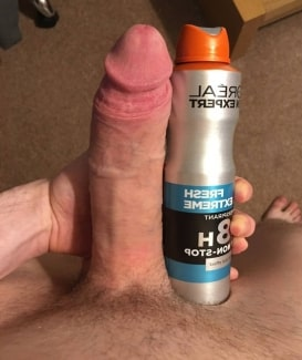 Guy with a huge dick